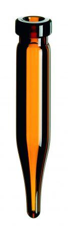 Inj.flaske 0,6 ml 8 mm krave, brun, LP, 100stk