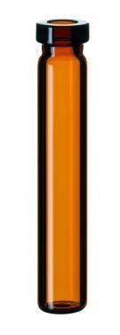 Inj.flaske 0,7 ml 8 mm krave, brun, LP, 100stk