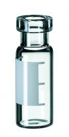 Inj.flaske 2 ml 6mm lysn.+label,32x11,6mm, 100stk