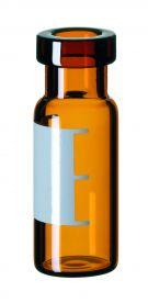 Inj.flaske 2 ml 6mm lysn+lbl 32x11,6mm,brun,100stk