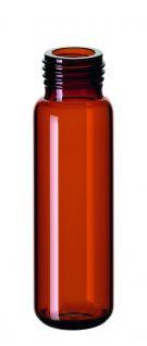 Skruelågsglas 20 ml ND18, brun, 100stk
