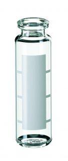 Inj.flaske 20 ml HS, label, 75,5x23mm, 100stk